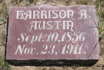AUSTIN, HARRISON A. - Turner County, South Dakota | HARRISON A. AUSTIN - South Dakota Gravestone Photos