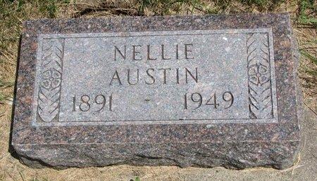 AUSTIN, NELLIE - Turner County, South Dakota | NELLIE AUSTIN - South Dakota Gravestone Photos