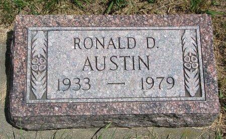 AUSTIN, RONALD D. - Turner County, South Dakota | RONALD D. AUSTIN - South Dakota Gravestone Photos