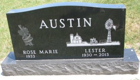 AUSTIN, LESTER - Turner County, South Dakota | LESTER AUSTIN - South Dakota Gravestone Photos