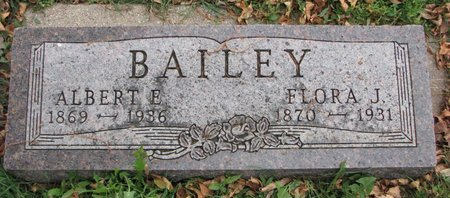 BAILEY, ALBERT E. - Turner County, South Dakota | ALBERT E. BAILEY - South Dakota Gravestone Photos