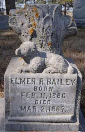 BAILEY, ELMER R - Turner County, South Dakota   ELMER R BAILEY - South Dakota Gravestone Photos