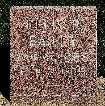 BAILEY, ELLIS R - Turner County, South Dakota   ELLIS R BAILEY - South Dakota Gravestone Photos