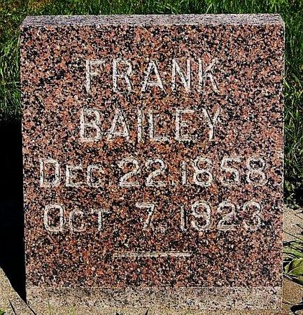 BAILEY, FRANK - Turner County, South Dakota   FRANK BAILEY - South Dakota Gravestone Photos