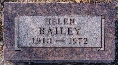 BAILEY, HELEN - Turner County, South Dakota | HELEN BAILEY - South Dakota Gravestone Photos