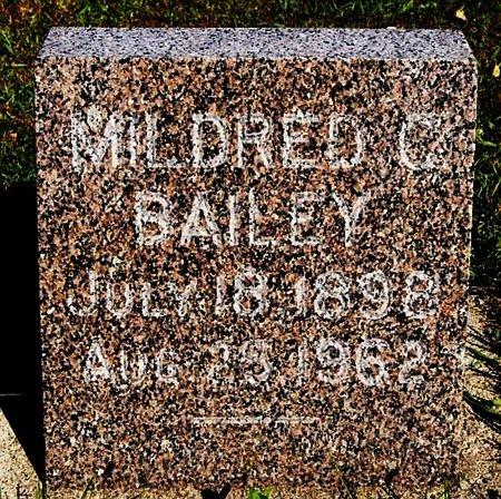 BAILEY, MILDRED C - Turner County, South Dakota | MILDRED C BAILEY - South Dakota Gravestone Photos