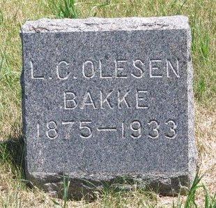 BAKKE, L.C. OLESEN - Turner County, South Dakota | L.C. OLESEN BAKKE - South Dakota Gravestone Photos