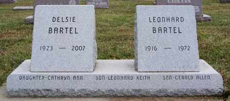 BARTEL, LEONHARD - Turner County, South Dakota   LEONHARD BARTEL - South Dakota Gravestone Photos