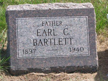 BARTLETT, EARL C. - Turner County, South Dakota   EARL C. BARTLETT - South Dakota Gravestone Photos