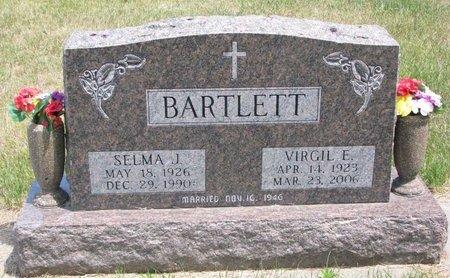 FLADNESS BARTLETT, SELMA JOHANNA - Turner County, South Dakota | SELMA JOHANNA FLADNESS BARTLETT - South Dakota Gravestone Photos