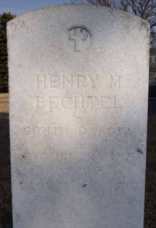 BECHTEL, HENRY M (MILITARY) - Turner County, South Dakota | HENRY M (MILITARY) BECHTEL - South Dakota Gravestone Photos