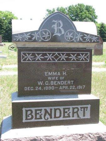 BENDERT, EMMA H. - Turner County, South Dakota | EMMA H. BENDERT - South Dakota Gravestone Photos