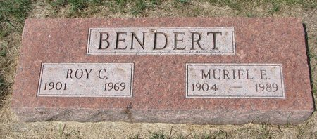 BENDERT, MURIEL E. - Turner County, South Dakota | MURIEL E. BENDERT - South Dakota Gravestone Photos