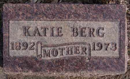 BERG, KATIE - Turner County, South Dakota | KATIE BERG - South Dakota Gravestone Photos