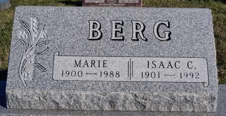 BERG, MARIE - Turner County, South Dakota | MARIE BERG - South Dakota Gravestone Photos