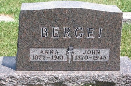 BERGEI, ANNA - Turner County, South Dakota | ANNA BERGEI - South Dakota Gravestone Photos