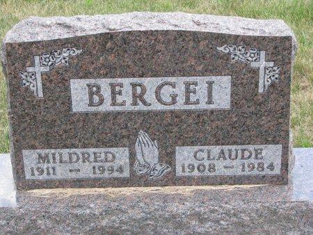BERGEI, MILDRED LELA - Turner County, South Dakota | MILDRED LELA BERGEI - South Dakota Gravestone Photos