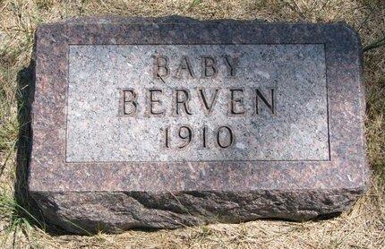 BERVEN, BABY - Turner County, South Dakota | BABY BERVEN - South Dakota Gravestone Photos