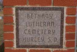 ***BETHANY LUTHERAN, SIGN - Turner County, South Dakota | SIGN ***BETHANY LUTHERAN - South Dakota Gravestone Photos