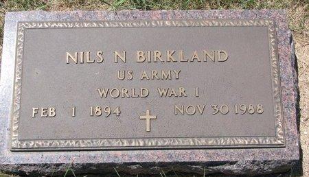 BIRKLAND, NILS N. - Turner County, South Dakota | NILS N. BIRKLAND - South Dakota Gravestone Photos