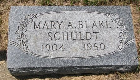 SCHULDT BLAKE, MARY A. - Turner County, South Dakota   MARY A. SCHULDT BLAKE - South Dakota Gravestone Photos