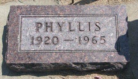 BLAKE, PHYLLIS - Turner County, South Dakota   PHYLLIS BLAKE - South Dakota Gravestone Photos
