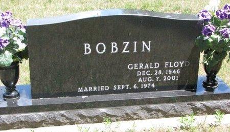 BOBZIN, GERALD FLOYD - Turner County, South Dakota | GERALD FLOYD BOBZIN - South Dakota Gravestone Photos