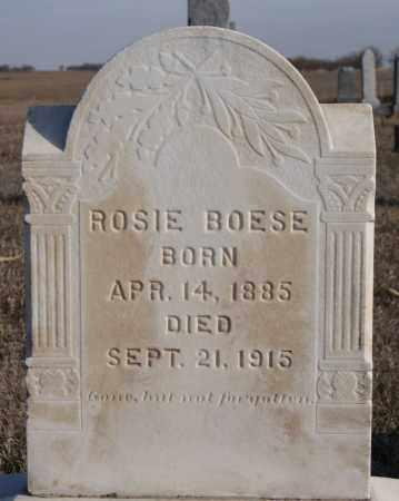 BOESE, ROSIE - Turner County, South Dakota | ROSIE BOESE - South Dakota Gravestone Photos