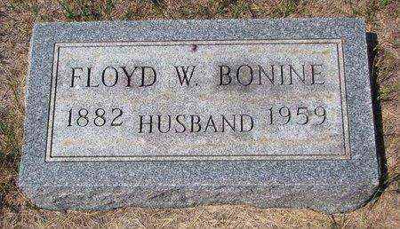 BONINE, FLOYD W. - Turner County, South Dakota | FLOYD W. BONINE - South Dakota Gravestone Photos