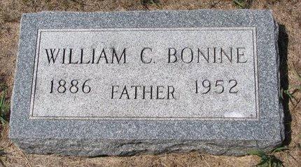 BONINE, WILLIAM C. - Turner County, South Dakota   WILLIAM C. BONINE - South Dakota Gravestone Photos