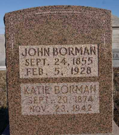 BORMAN, KATIE - Turner County, South Dakota | KATIE BORMAN - South Dakota Gravestone Photos