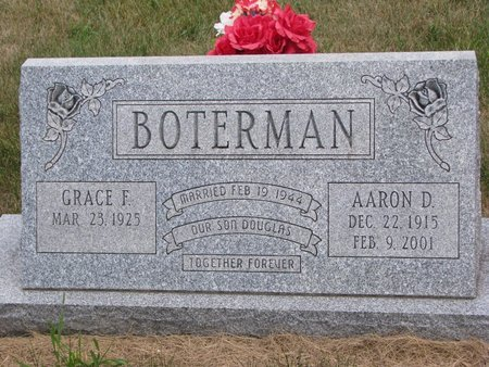 BOTERMAN, AARON DUANE - Turner County, South Dakota | AARON DUANE BOTERMAN - South Dakota Gravestone Photos