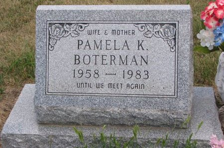 EBERLE BOTERMAN, PAMELA KAY - Turner County, South Dakota | PAMELA KAY EBERLE BOTERMAN - South Dakota Gravestone Photos