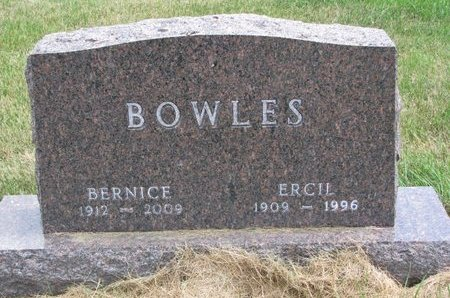 BOWLES, ERCIL - Turner County, South Dakota | ERCIL BOWLES - South Dakota Gravestone Photos