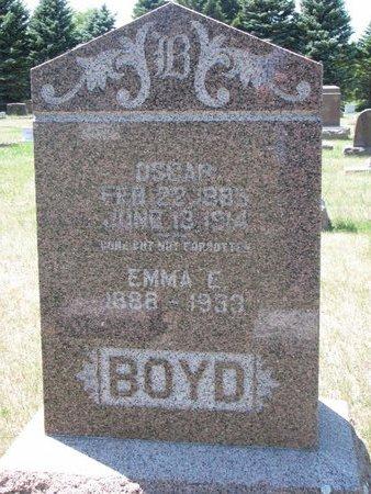 BOYD, OSCAR #1 - Turner County, South Dakota | OSCAR #1 BOYD - South Dakota Gravestone Photos