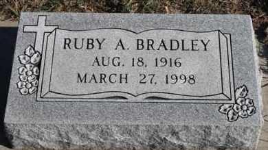 BRADLEY, RUBY A - Turner County, South Dakota | RUBY A BRADLEY - South Dakota Gravestone Photos