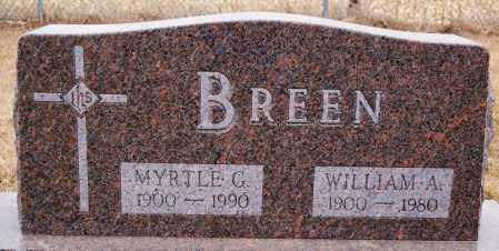 BREEN, WILLIAM A - Turner County, South Dakota | WILLIAM A BREEN - South Dakota Gravestone Photos