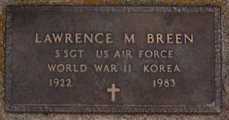 BREEN, LAWRENCE M (WWII KOREA) - Turner County, South Dakota | LAWRENCE M (WWII KOREA) BREEN - South Dakota Gravestone Photos