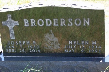 MITCHELL BRODERSON, HELEN - Turner County, South Dakota | HELEN MITCHELL BRODERSON - South Dakota Gravestone Photos