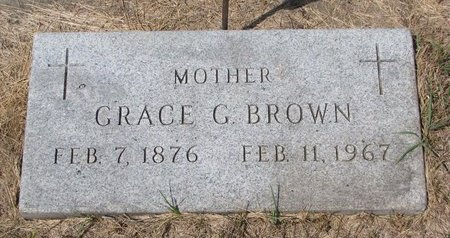 BROWN, GRACE G. - Turner County, South Dakota | GRACE G. BROWN - South Dakota Gravestone Photos