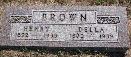 BROWN, DELLA - Turner County, South Dakota | DELLA BROWN - South Dakota Gravestone Photos