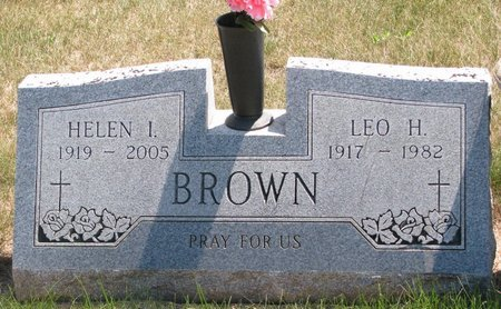 BROWN, LEO H. - Turner County, South Dakota | LEO H. BROWN - South Dakota Gravestone Photos