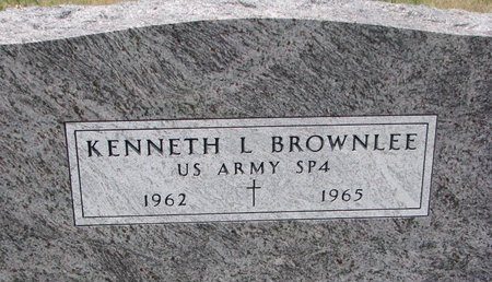 BROWNLEE, KENNETH L. (MILITARY) - Turner County, South Dakota | KENNETH L. (MILITARY) BROWNLEE - South Dakota Gravestone Photos
