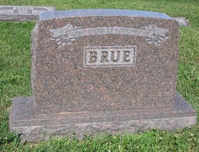 BRUE, *FAMILY MONUMENT - Turner County, South Dakota   *FAMILY MONUMENT BRUE - South Dakota Gravestone Photos