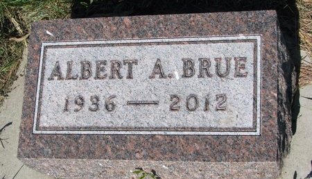 BRUE, ALBERT A. - Turner County, South Dakota | ALBERT A. BRUE - South Dakota Gravestone Photos