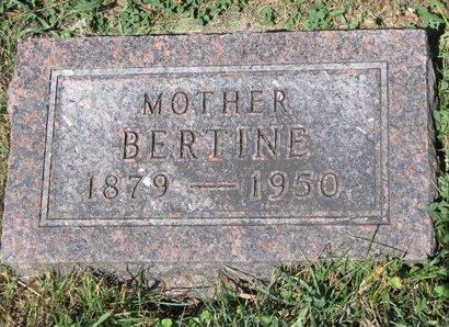 BRUE, BERTINE - Turner County, South Dakota | BERTINE BRUE - South Dakota Gravestone Photos