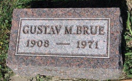 BRUE, GUSTAV M. - Turner County, South Dakota | GUSTAV M. BRUE - South Dakota Gravestone Photos