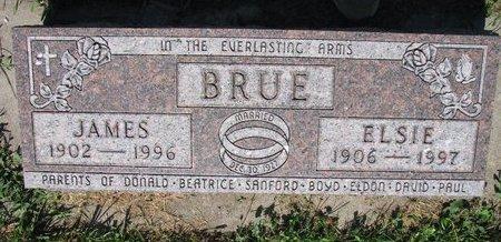BRUE, ELSIE - Turner County, South Dakota   ELSIE BRUE - South Dakota Gravestone Photos