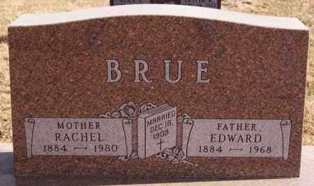 BRUE, EDWARD - Turner County, South Dakota | EDWARD BRUE - South Dakota Gravestone Photos