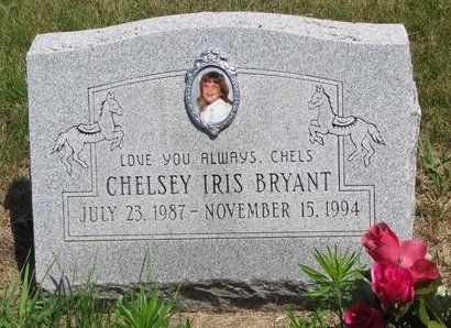 BRYANT, CHELSEY IRIS - Turner County, South Dakota   CHELSEY IRIS BRYANT - South Dakota Gravestone Photos